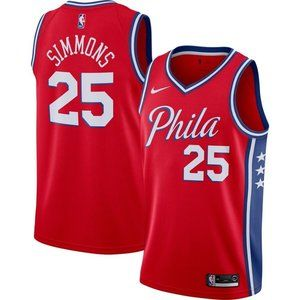 Ben Simmons Red Jersey